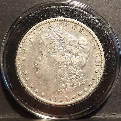 1900-S Key Date Morgan Silver Dollar XF in Airtite Coin Ships Free!