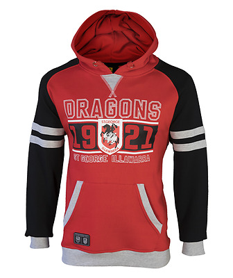 St George Dragons NRL 2017 Classic Fleece Hoody Hoodie Adults and Kids Sizes!