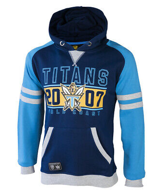 Gold Coast Titans NRL 2017 Classic Fleece Hoody Hoodie Adults and Kids Sizes!