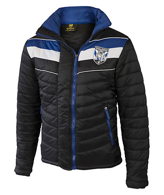 Canterbury Bulldogs NRL 2017 Classic Puffer Jacket Adults and Kids Sizes!