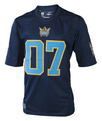 Gold Coast Titans NRL 2017 Classic Gridiron Jersey Shirt Adults and Kids Sizes!