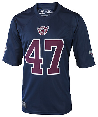 Manly Sea Eagles NRL 2017 Classic Gridiron Jersey Shirt Adults Sizes S-5XL!