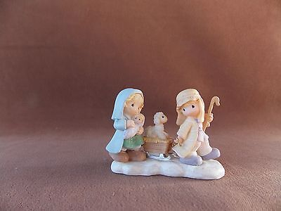Away in a Manger Precious Moments Figurine 2001