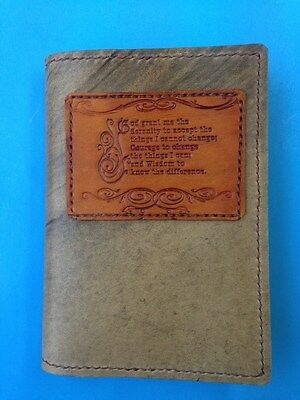 Alcoholics Anonymous Soft Leather *Soft Cover* edition of BB -  slip-on cover
