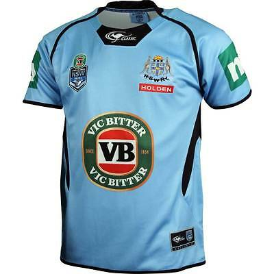 New South Wales Blues State Of Origin Premium Players Style Jersey! BNWT's!5
