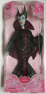 Disney Store Maleficent Doll Gitter Version Princess Classic Collection NIB