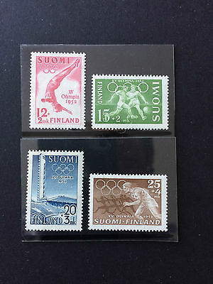 FINLAND set of 1952 Olympics issue, mint not hinged.