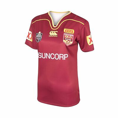 Queensland Maroons State Of Origin 2017 CCC On Field Jersey Adults, Ladies, Kids