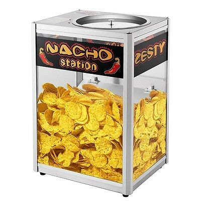 Commercial Nacho Chip Warming Station Machine Concessions Stand Popcorn Warmer