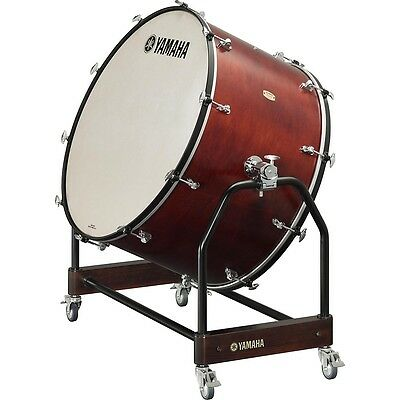 Yamaha 9000 Series Pro Concert Bass Drum 36 x 22 in. 10 small-body lugs LN