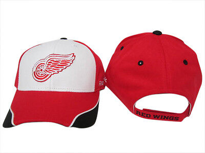 NHL Detroit Red Wings Adjustable Ice Hockey Cap Hat