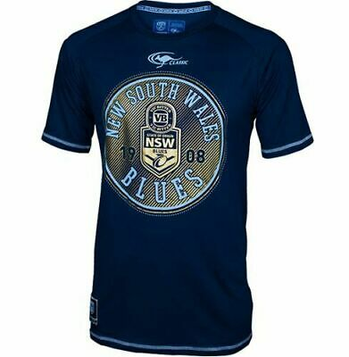 New South Wales NSW Blues State Of Origin Navy Supporters T Shirt Size S-5XL! 6