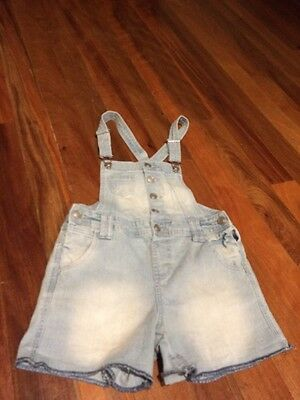 Girls Size 8 Target Jean Overalls