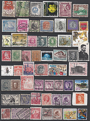 WORLD STAMP COLLECTION on 3 scans. ( lot 1 ).