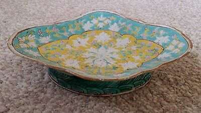 early 20th century chinese porcelain fruits bowl