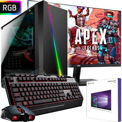 AMD PC Komplett-Set AMD Ryzen 3200G 4x4,0 GHz - AMD Radeon VEGA 8 - Gaming Turbo