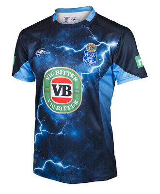 NSW Blues State Of Origin 2017 NRL Training Jersey Adults & Kids Sizes! In Stock