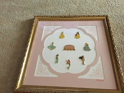 Disney Limited Edition No. 481/1000 Princess Celebrate The Magic Pin Collection