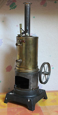 stehende Dampfmaschine Steam Engine Carette