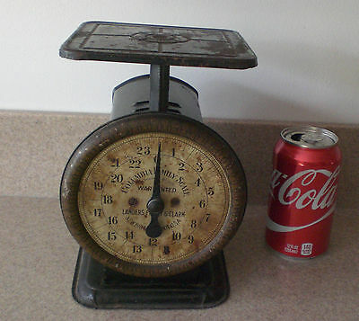 Vintage Weight Scale 24 lb Columbia  Family Landers, Frary & Clark Old Antique