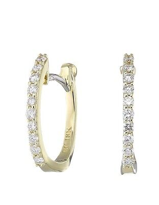 Authentic Roberto Coin Perfect Diamond Highly Earrings 18K $880