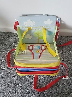 First Years Portable Folding Travel Booster Seat With Winnie The Pooh