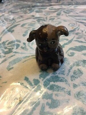 Antique Cast Iron Pup/ Dog Paperweight Hubley
