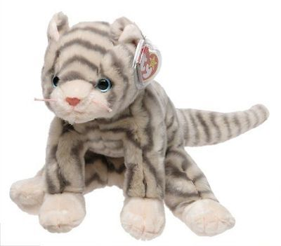 Ty Beanie Buddies Silver Cat 1999