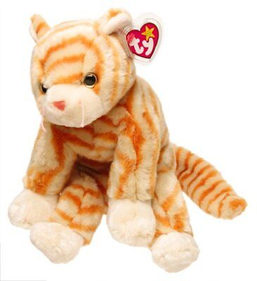 Ty Beanie Buddies Amber Cat 1999
