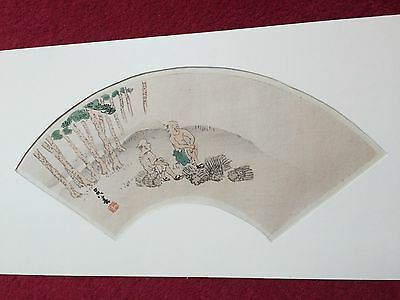 Antique Japanese woodblock print,signed