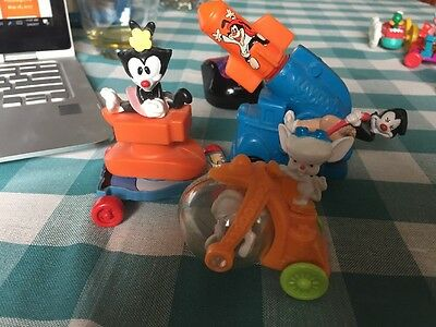 Vintage Lot Of Warner Brothers Figures - Pinky And Brain, Animaniacs