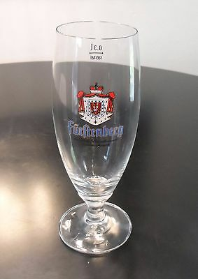 Furltenberg Beer Glass   0.3 L Size  Great Condition