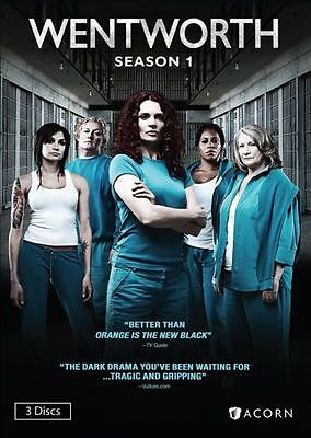 Wentworth: Season  One 1 (3 Disc DVD Set)  BRAND NEW!  SEALED!