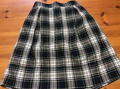 Lot Of 2 Girls School Uniform Skirts With Shorts Attached. Size 10/12