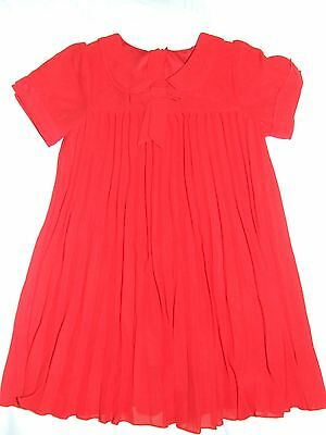 Next red party dress top age 3 years, fantastic condition!