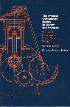 Internal Combustion Engine in Theory and Practice-NEW-9780262700276 by Taylor, C