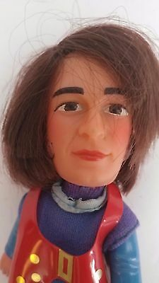 """Vintage Remco 1970 Monkees 5"""" Finger Ding Doll Puppet Michael Nesmith Promotion"""