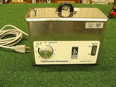 Elma Stullersonic Ultrasonic Cleaner w/Timer - Heat - Cover WORKING CONDITION