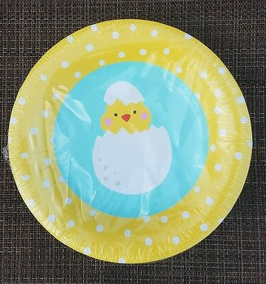 New 7.75  inch EASTER CHIC Paper Plates~ 16ct Plates