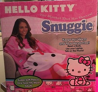 Adult Size Hello Kitty Snuggie Sanrio NEW