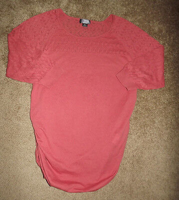 Oh Baby! By Motherhood Maternity Light Weight Sweater 3/4 Sleeve size XL  NWOT