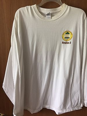 White Hess Long Sleeve Shirt