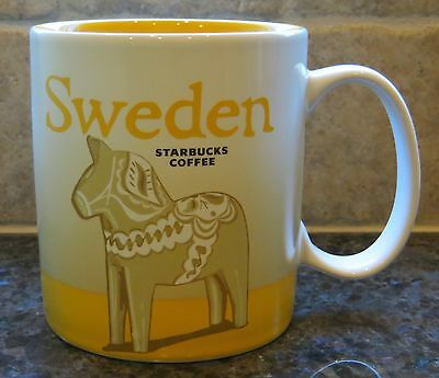 NWT Starbucks SWEDEN Global Icon City Collector Series Mug with SKU