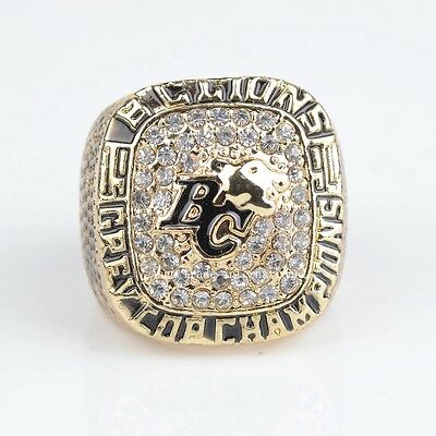 BC Lions 1994 CFL Grey Cup Ring replica