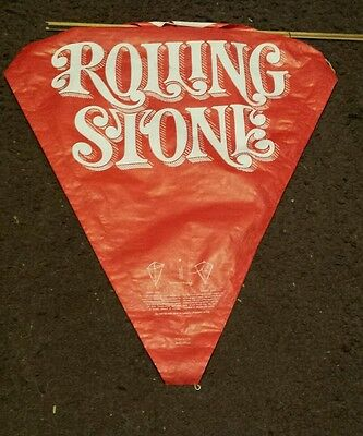 Vintage Advertising Rolling Stone Kite from the 70s