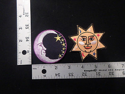 patch,iron on,fun,funny,rare,cool,space,moon,sun,celestial,tattoo,planets