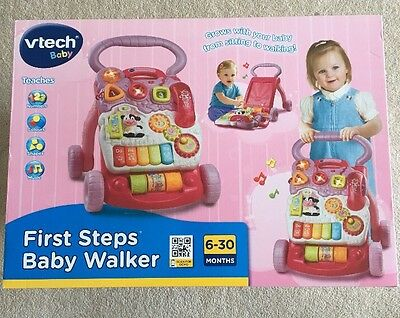Vtech Baby First Steps Baby Walker RRP $59
