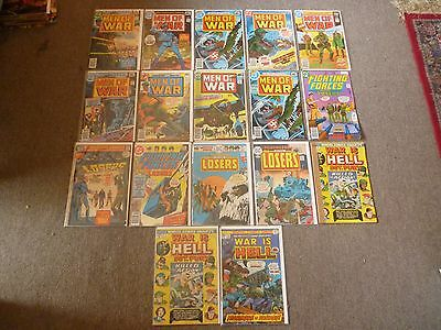 DC and Marvel War comics x 19 issues