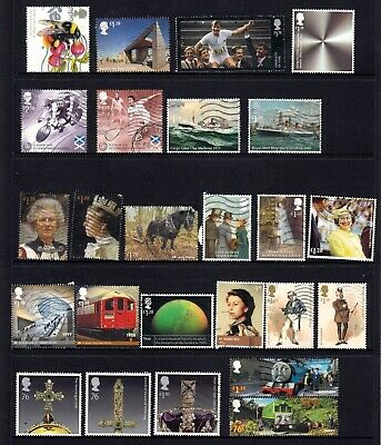 Great Britain Lot of 25x High Value Stamps A P Used Good deal