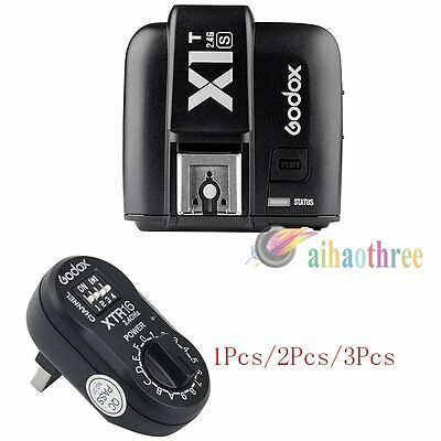 Godox X1T-S TTL HSS 1/8000s Flash Trigger Transmitter + XTR16 Receiver For Sony